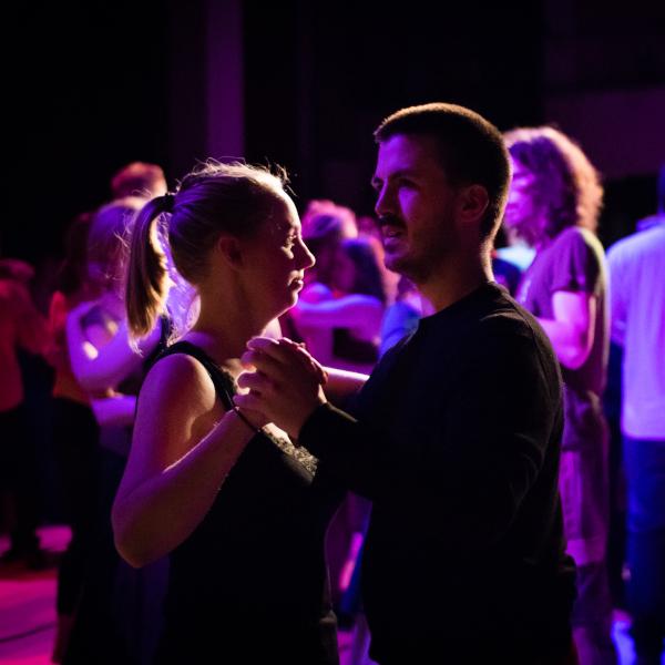 Samuel Tinguely danse