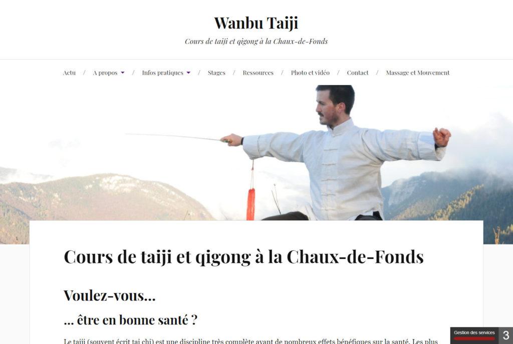 Site de Wanbu-Taiji